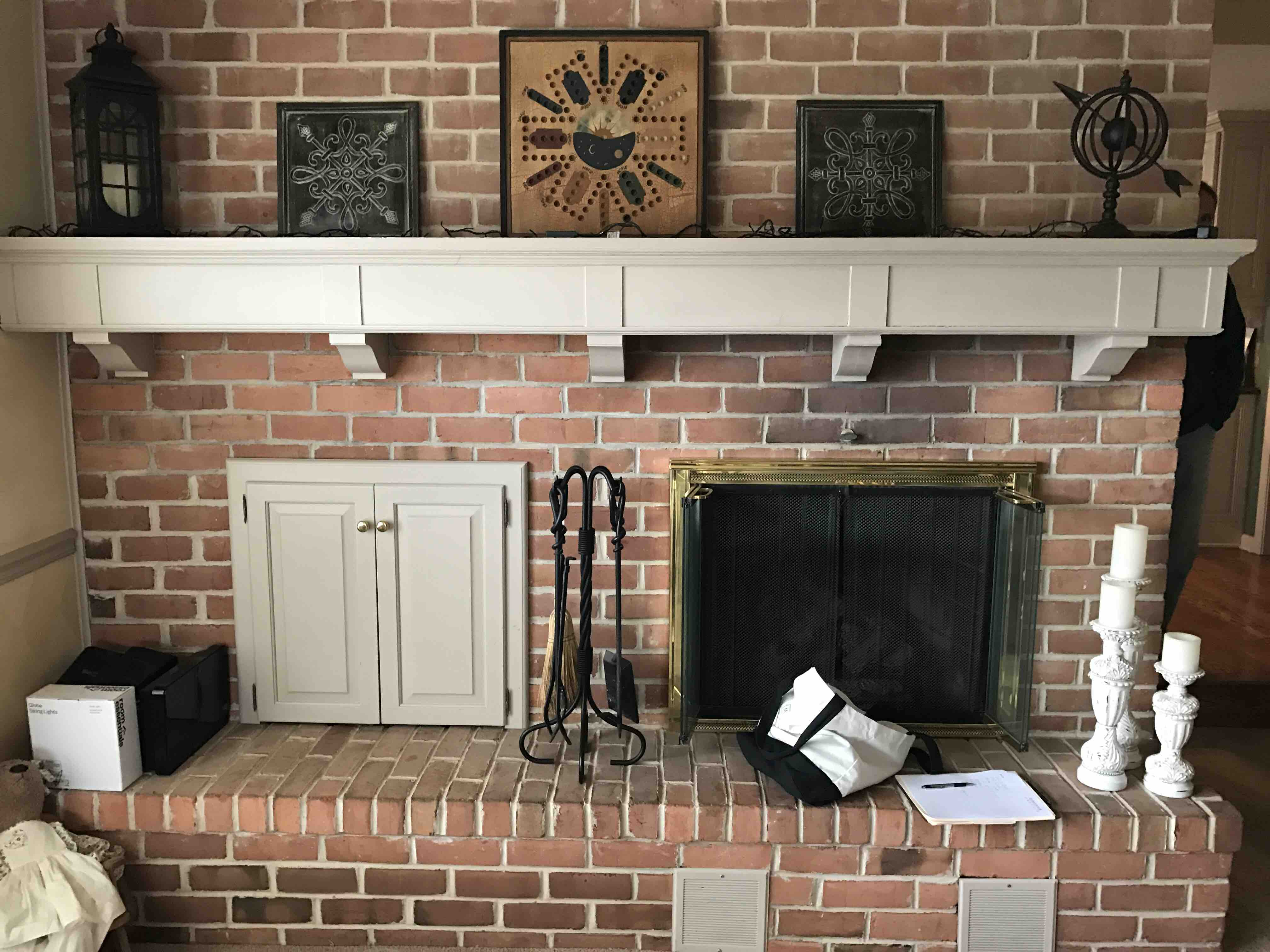 So This Is Not The First Time I Have Had A Client Come To Me And Tell Me  They Just Donu0027t Know What To Do With Their Mantel.